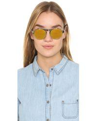Westward Leaning Multicolor Dyad 7 Clip Sunglasses