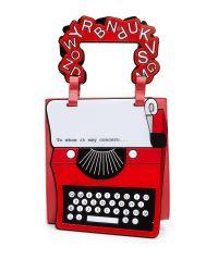 Yazbukey - Red Typewriter Bag - Lyst