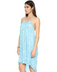 Young Fabulous & Broke - Blue Adalade Dress - Lyst