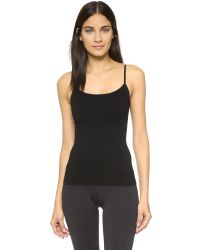 Yummie By Heather Thomson - Black Sylvie Seamless Cami - Lyst