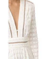 Zimmermann White Zephyr Broderie Dress