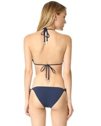 Zimmermann - Blue Separates Triangle Bikini Top - Lyst