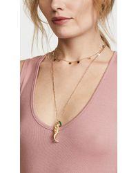 Elizabeth and James - Metallic Mallory Mermaid Necklace - Lyst
