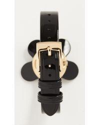 Marc Jacobs Black Daisy Watch, 39mm