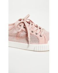 Tretorn - Pink Tournament Net Mesh Sneakers - Lyst