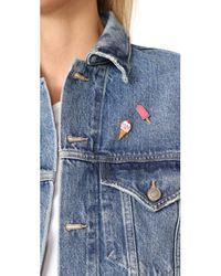Georgia Perry | Multicolor Ice Cream Lapel Pin | Lyst