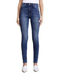 Joe's Jeans Blue X Taylor Hill Bella Skinny Jeans