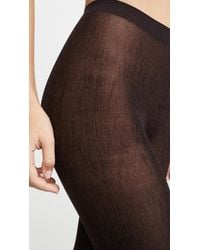 Wolford Black Amazonian Tights