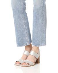 Coclico Bask Metallic Sandals