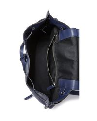 Marc Jacobs Blue Zip Pack Backpack