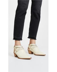Free People White Free Reigh Shoot Boots