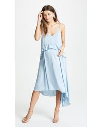 HATCH - Blue Cleo Dress - Lyst