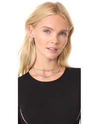 Justine Clenquet - Metallic Pixie Necklace - Lyst