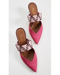 Malone Souliers Pink Maisie Mules