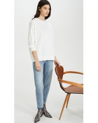 DEMYLEE White Frieda Sweater
