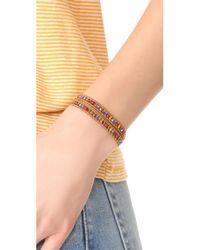 Chan Luu - Brown Double Wrap Bracelet - Lyst
