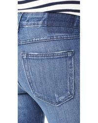 AMO - Blue Stix Crop Jeans - Lyst