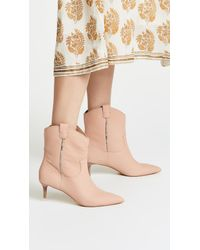 Dolce Vita Natural Reece Point Toe Booties