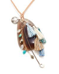 Chan Luu | Multicolor Pendant Necklace | Lyst