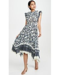 Ulla Johnson Blue Amalia Dress