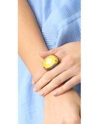 Elizabeth Cole Metallic Alfani Ring