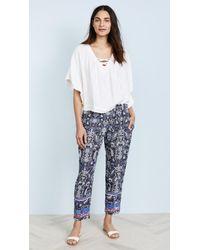 Xirena Blue Paige Pants