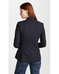 Veronica Beard Blue Classic Jacket