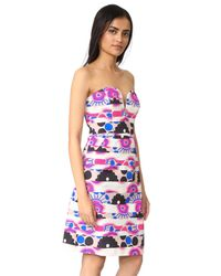 MILLY Multicolor Brittani Dress