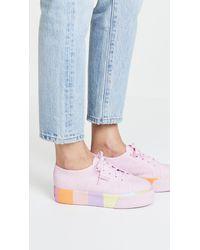Superga - Pink 2790 Multi Platform Sneakers - Lyst