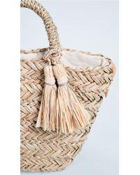 Hat Attack Natural Petite Seagrass Tote Bag