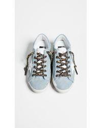 Golden Goose Deluxe Brand White Superstar Sneakers