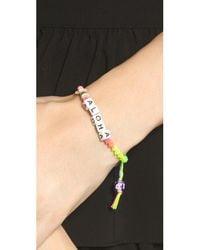 Venessa Arizaga - Blue Lady Aloha Bracelet - Lyst