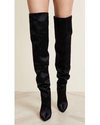 Kendall + Kylie Black Alexxa Otk Boots