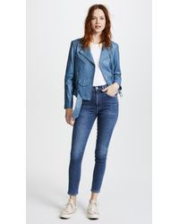 Citizens of Humanity Blue Chrissy High Rise Jeans