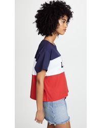 Levi's Blue Colorblock J.v. Tee
