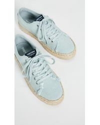 Tretorn Blue Eve Lace Up Espadrille Sneakers