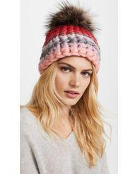 Mischa Lampert - Multicolor Striped Beanie Hat - Lyst