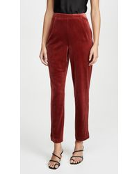 Yumi Kim Red City Slicker Pants