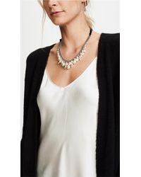 Chan Luu - Natural Cream Swarovski Imitation Pearl Necklace - Lyst