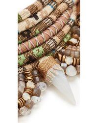 Deepa Gurnani | Natural Jarah Necklace | Lyst