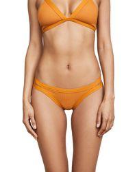 L*Space - Orange Charlie Bikini Bottoms - Lyst