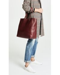 Madewell Red The Transport Tote