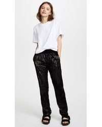 RTA - Black Ash Pants - Lyst
