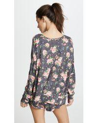Honeydew Intimates - Gray Starlight Lounge Sweatshirt - Lyst