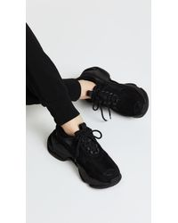 Jeffrey Campbell Black Lo Fi Sneakers