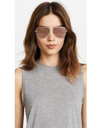 Quay - Multicolor Sahara Sunglasses - Lyst