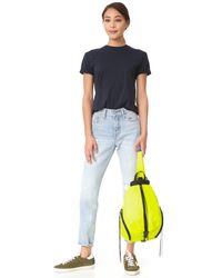 Rebecca Minkoff Yellow Nylon Julian Backpack