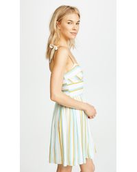 Amanda Uprichard Multicolor Pineapple Dress