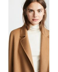 Theory - Multicolor Clairene Coat - Lyst