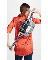 What Goes Around Comes Around Blue Chanel Sportline Waist Belt Bag